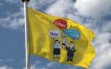Vlag kan nu echt uit, Schoolfeest-fotosite online