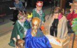 Kleuterkerk in het teken van het kerstfeest