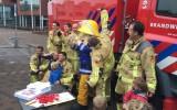 Goorse kinderen in de ban van de brandweer…