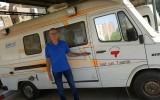 Henk Dikkers vindt Goorse ambulance in Egypte