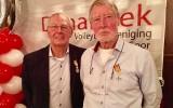Koudijs en Barendrecht geridderd tijdens jubileumfeest Dynamiek