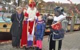 Sinterklaas met Minionpieten aangemeerd in Goor