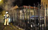 Coniferen uitgebrand aan de Reigerstraat