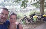 Harrie en Dianne met de fiets van Goor naar Bangkok