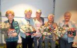 Vijf jubilarissen gehuldigd bij Vrouwen van Nu