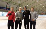 Schaatskoorts neemt toe, tweede plek team Waerdenborch