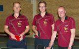 Tafeltennissers Olympia overtuigend kampioen