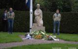 Individuele herdenking en bloemlegging op 4 mei