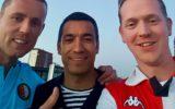 Goorse Feyenoorders vieren groots feest in Rotterdam