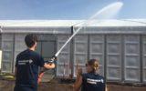 Brandweer steelt graden uit de Tent…