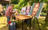 Franse sfeer tijdens Kunst in de tuin