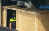Hennepplantage ontmanteld in garagebox