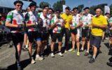 Gorenaren op de fiets tijdens Tour de Goal