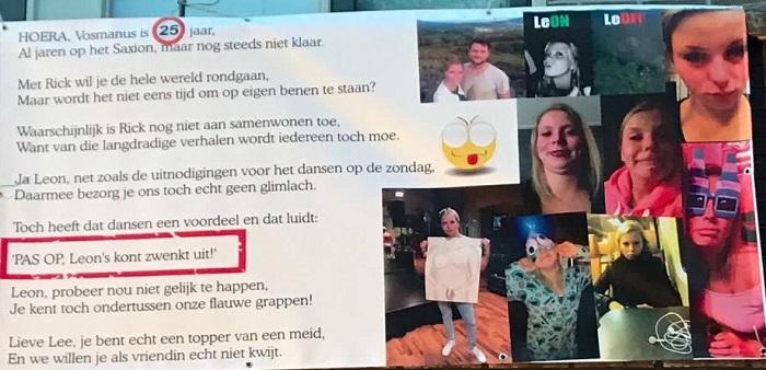 Beroemd Leon Vosman verrast met halve Sarah - Goorsnieuws.nl &XI45