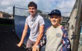 Daan en Mitchell verantwoordelijk voor fonkelnieuw Skatepark