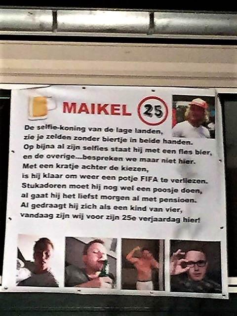 Populair Maikel de Jong kwart eeuw oud - Goorsnieuws.nl #MY36