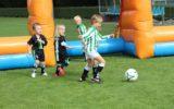 Dartsvoetbal en opening Schoolplein 14 tijdens Open Dag Hector