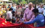 Groots onthaal voor van Hal in Cambodja