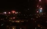 Goor van boven tijdens nieuwjaarsnacht (video)