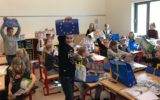 Heeckerenleerlingen winnen tekenwedstrijd Europees Parlement