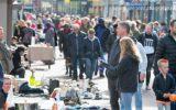 Rommelmarkt brengt veel mensen op de been