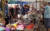 Pleinmarkt bij De Klokkenkamp