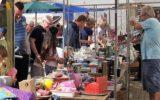 Pleinmarkt bij De Hofkerk