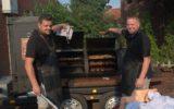 Zomerbarbecue voor herhaling vatbaar