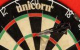Goorse dart-competitie in de maak