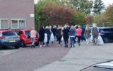 Gaslek ontdekt tijdens kledingverkoop Bunschotenstraat