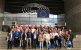 Schlagerkoor maakt indruk in Brussel