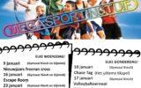 Volop sportactiviteiten in maart