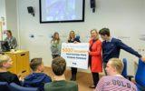 Goorse leerlingen Waerdenborch als 5000e onthaald bij Annie Schreijer