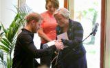 Goors tintje bij bezoek Engelse Prins Harry