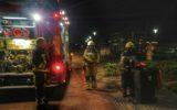 Brandweer rukt uit voor brandje in afvalbak