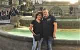 Brenda en Henk 25 jaar getrouwd
