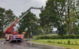 Goorse brandweer rukt uit voor loshangende takken