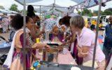 Schoolfeestplein kleurt rijk…