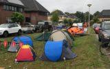 Noorse camping op De Hogenkamp