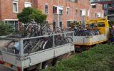 46 fietsen geruimd bij station Goor