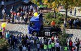 Truck Run Hof van Twente morgen door Goor