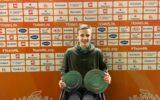 Maarten ter Hofte Nederlands Kampioen rolstoeltennis