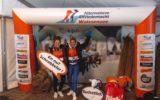 Lidwien en Saskia bedwingen marathontocht op de Weissensee voor het goede doel