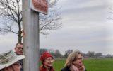 Fairtradeborden bij invalswegen opgehangen
