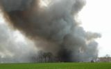 Goorse brandweer naar grote brand in Bentelo