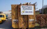 Oud-papiercontainer HGB gesloten: Teveel restafval