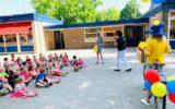 Geen kermis, wel een Schoolfeest-rugtas…