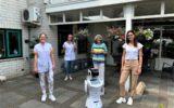Zorgrobot actief bij Herfstzon