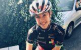 Marit Cent heropent wielerseizoen met podiumplek