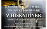 Tien jaar GUS met speciaal whisky-diner